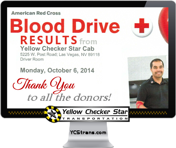 Red Cross Blood Drive Hosted At Yellow Checker Star October 2014 - Red Cross Blood Drive Hosted At Yellow Checker Star October 2014 - A Sincere Thank You To All The YCS Employee Donors! Click Here To Donate Blood Now!