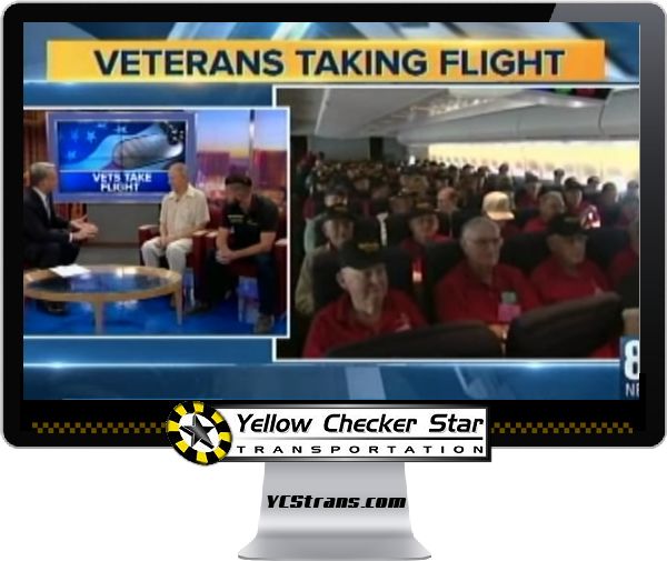 Yellow Checker Star Cab Partners Again With Honor Flight Southern Nevada