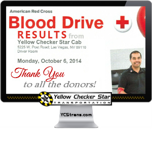 Red Cross Blood Drive October 2014 Results