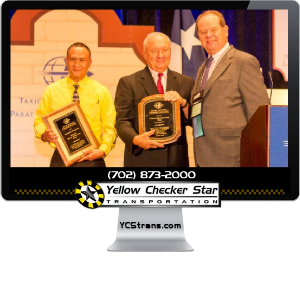 Yellow Checker Star's Employee – Gerardo Gamboa – Named Taxi Cab Driver Of The Year 2014 by TLPA