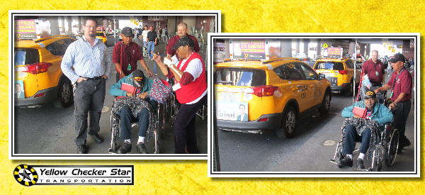Yellow Checker Star Cab Partnered with Honor Flight Southern Nevada giving rides to WWII veterans