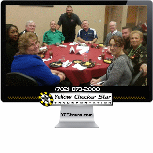 Yellow Checker Star Cab Attends UNLV Chalk Talks