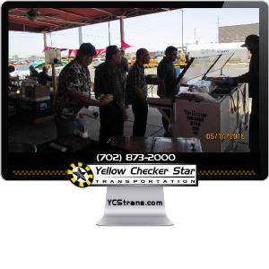 Yellow Checker Star Cab Holds BBQ Event for Employees