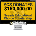 Yellow Checker Star Donates $150,000 of Modified Business Tax to Nevada Educational Choice Scholarship Benefiting Local Students